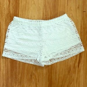 Divided by H&M Boho Crochet shorts